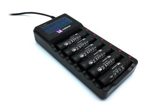 多路电池充电器
