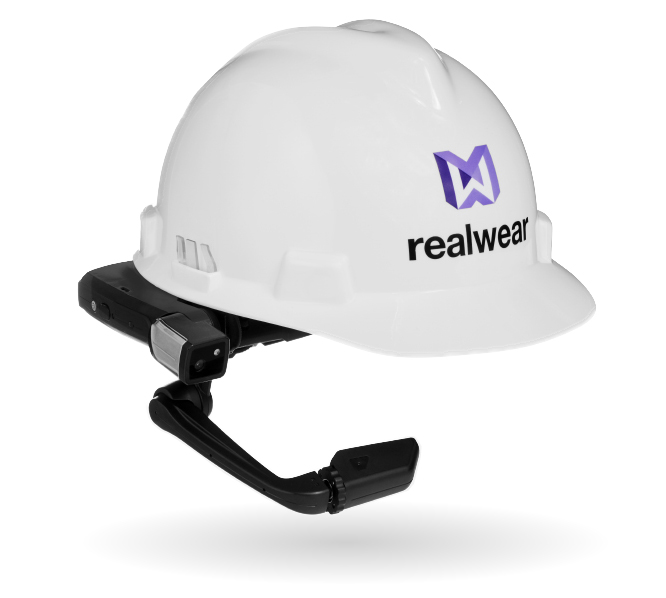 HMT-1 attached to a hard hat